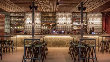 Interiorismo Industrial Restaurante
