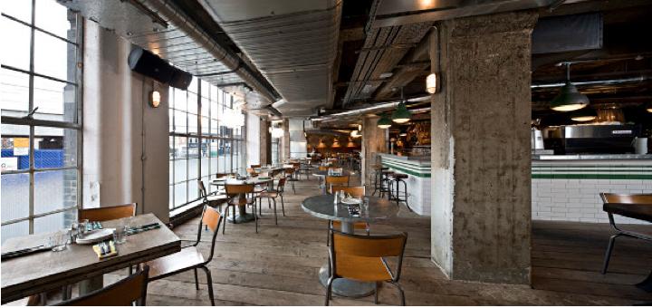 Interiorismo Industrial Cafetería