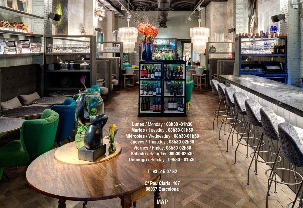 Tiendas de diseño y gastronomía