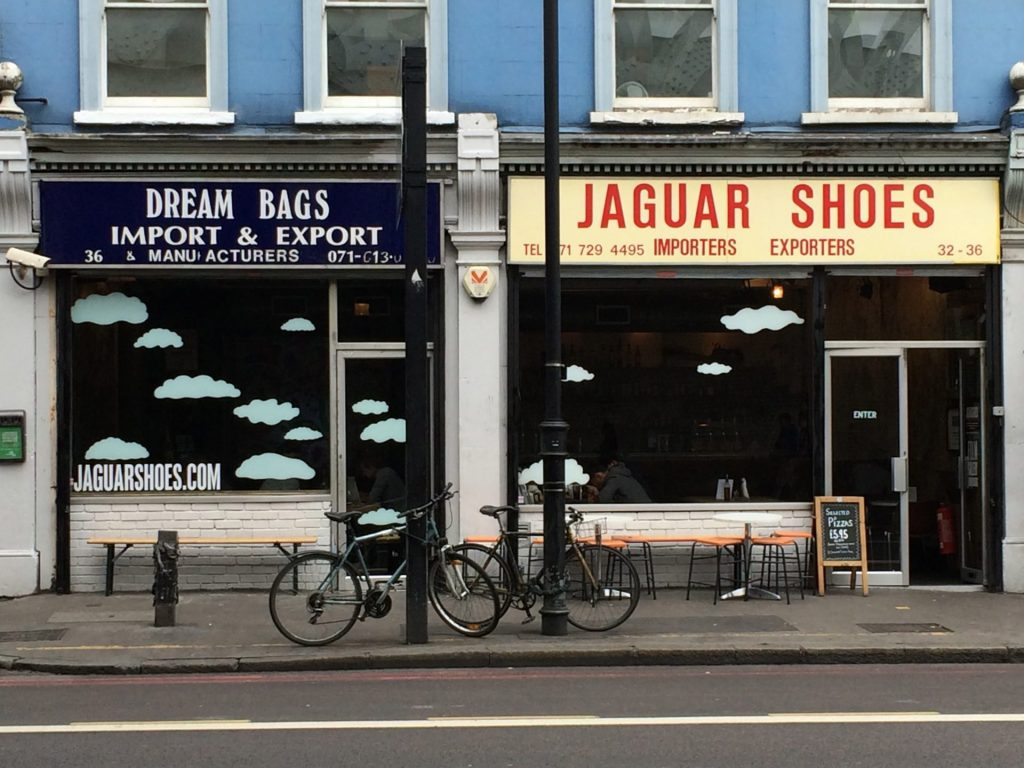 Jaguar Shoes, Shoreditch