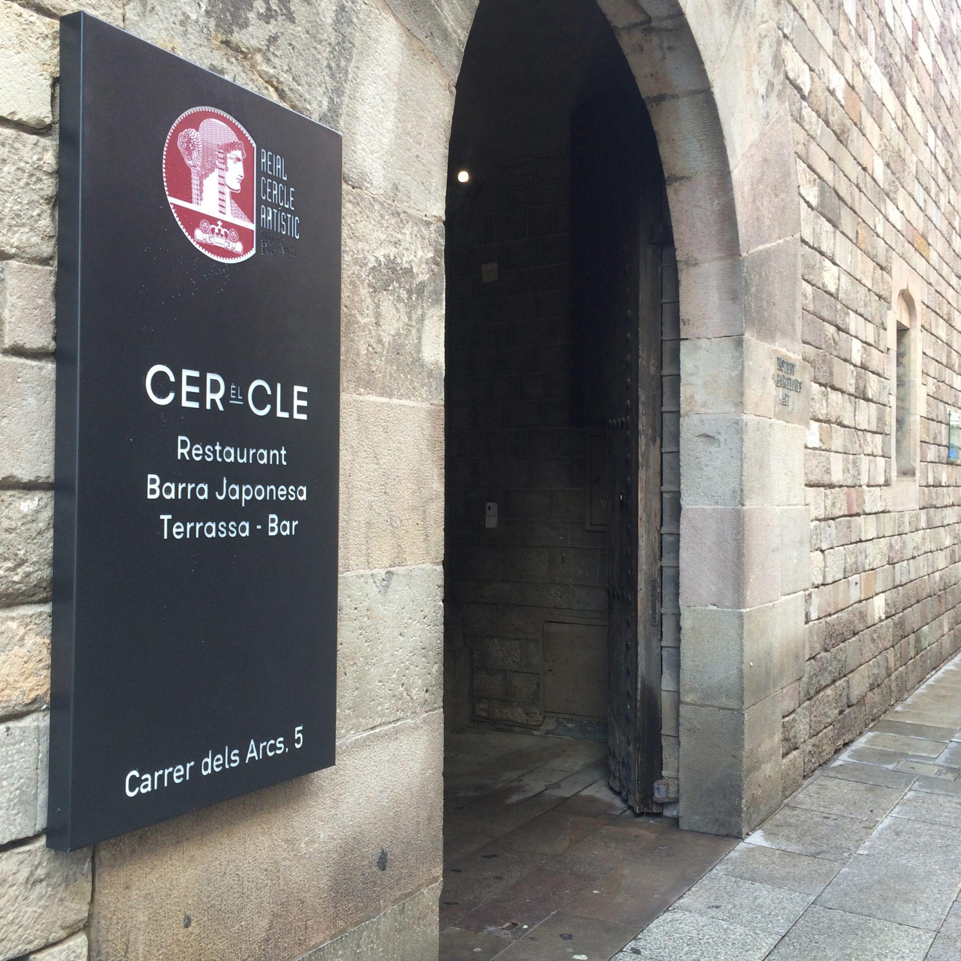 El Cercle, bienvenido a los grastro-espacios de referencia
