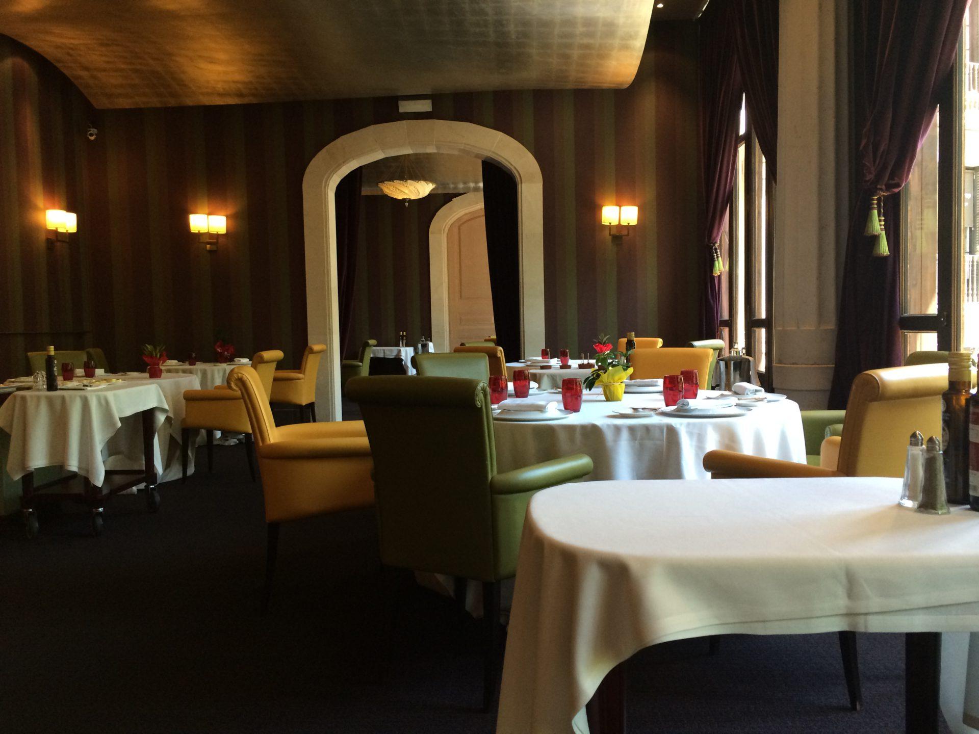 Restaurante galax en el hotel casa fuster barcelona eva ballarin - Restaurante casa fuster barcelona ...