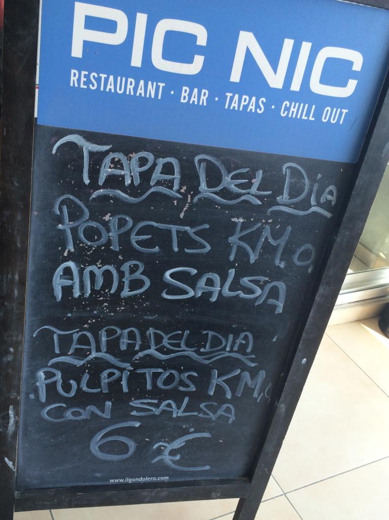 Picnic (Sitges, Barcelona)