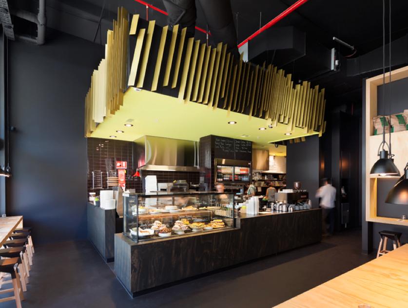 11 Inch Pizzeria (Australia), Canteen