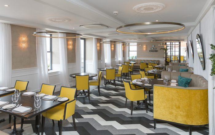 Michele Hilton Interior Design - Fine Furnishings. La Reunion Restaurant Cobo