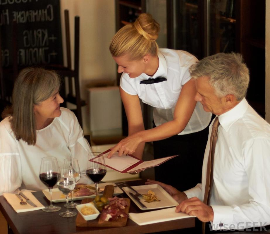 waiter-serving-customers