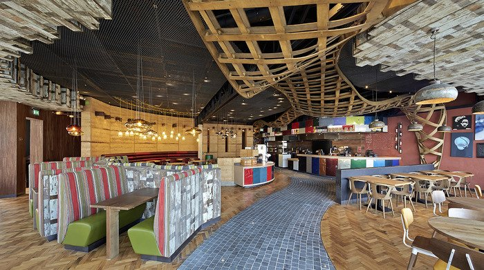 Nando's (Loughton), Fast/Casual STAC Architecture & BuckleyGrayYeoman