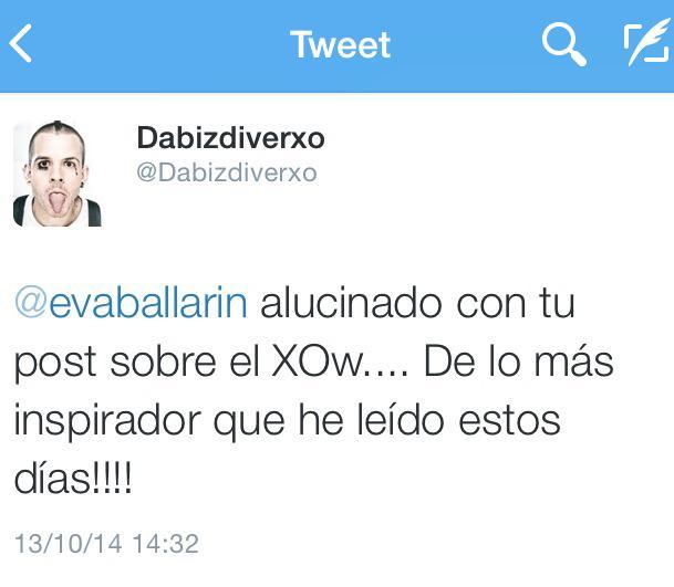 Tuit de Dabiz Muñoz