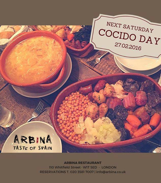 La promo del cocido de Arbina