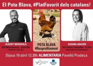 Showcooking STOP FOODWASTE - El pota blava #platfavorit dels catalans! @ Fira Gran Vía | L'Hospitalet de Llobregat | Catalunya | España