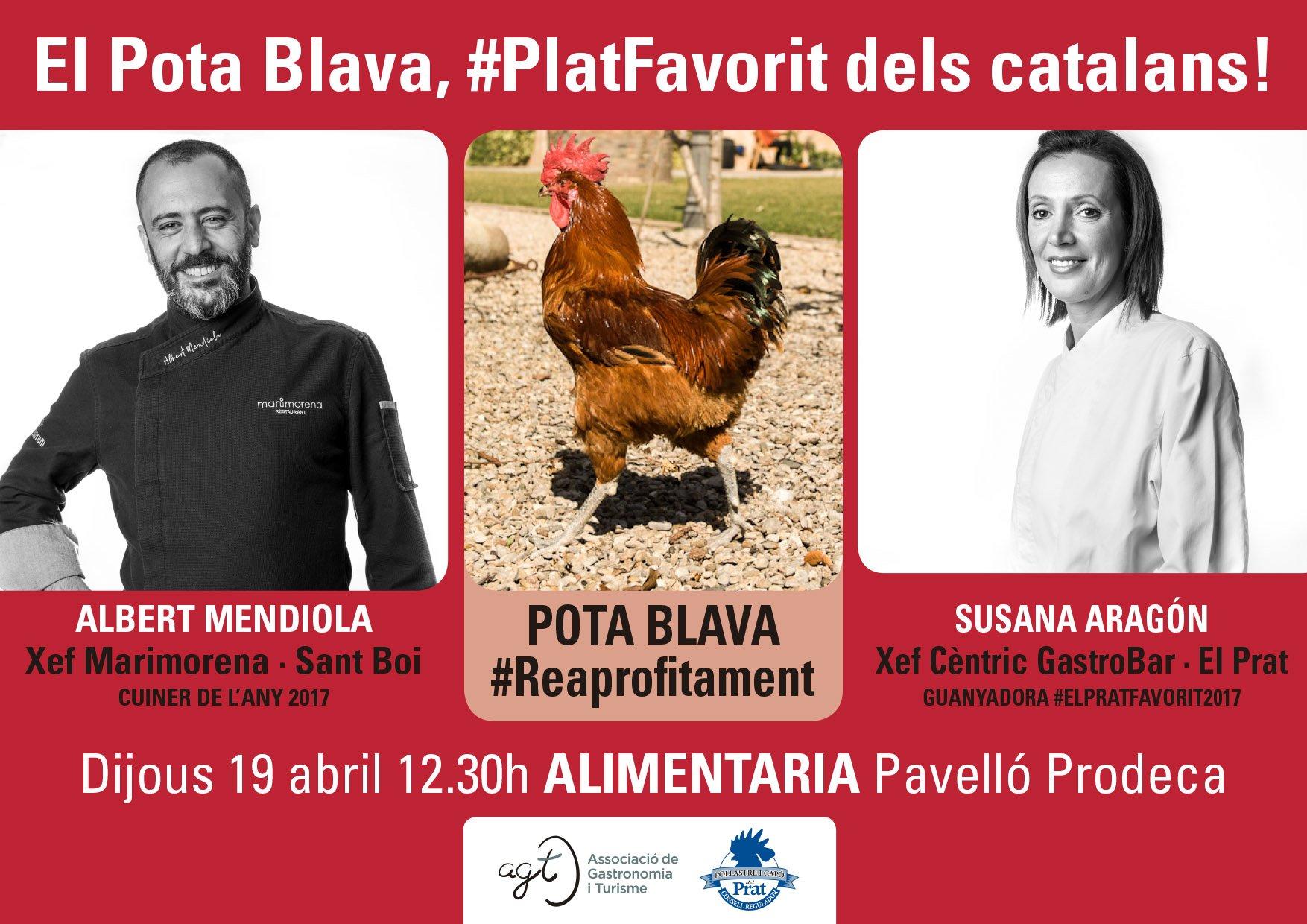 Showcooking STOP FOODWASTE - El pota blava #platfavorit dels catalans!