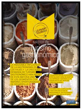 Sesión en el Master en Turismo Gastronómico - Basque Culinary Center