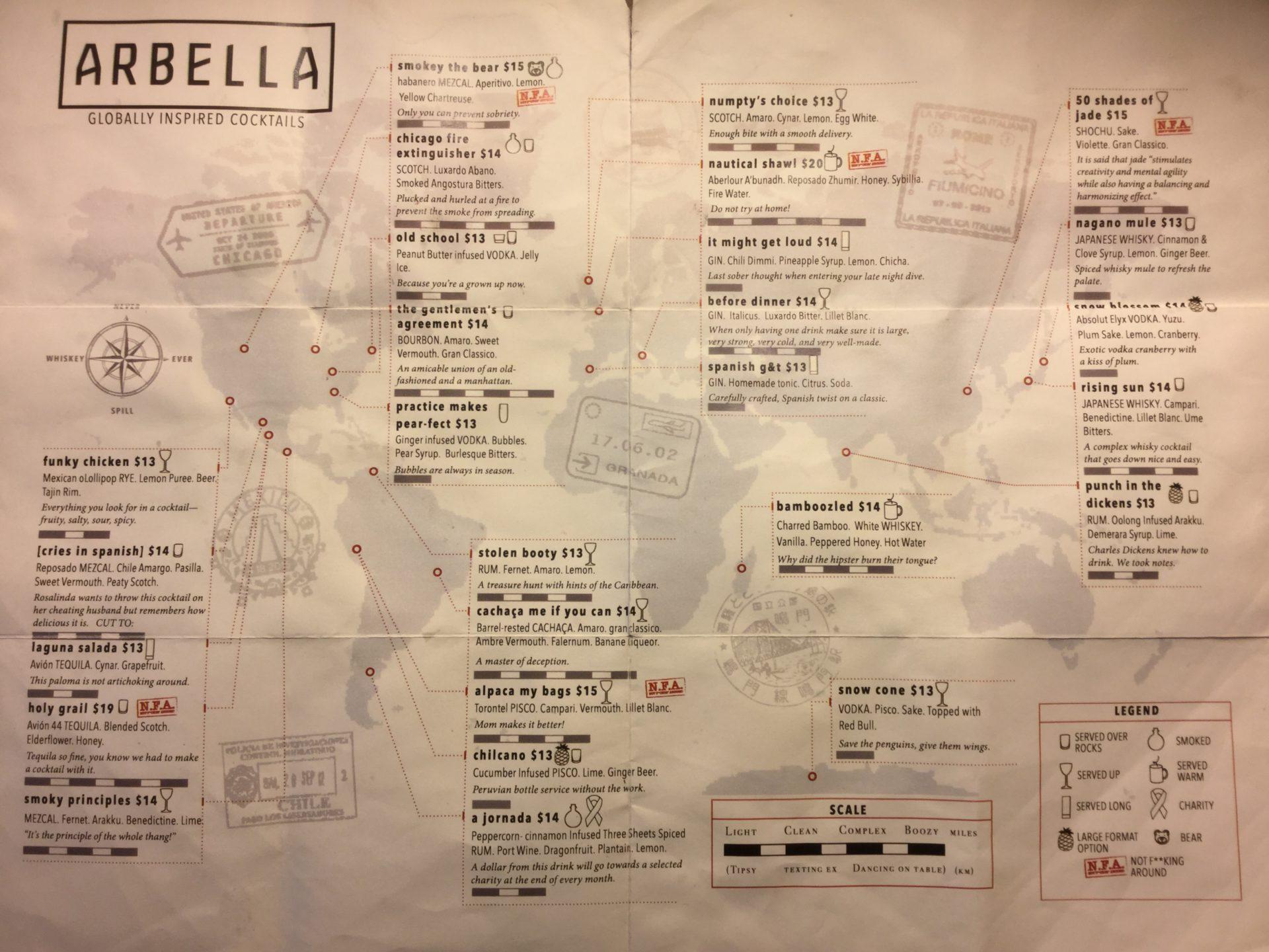 Arbella o cómo diseñar una Carta creativa en un A3