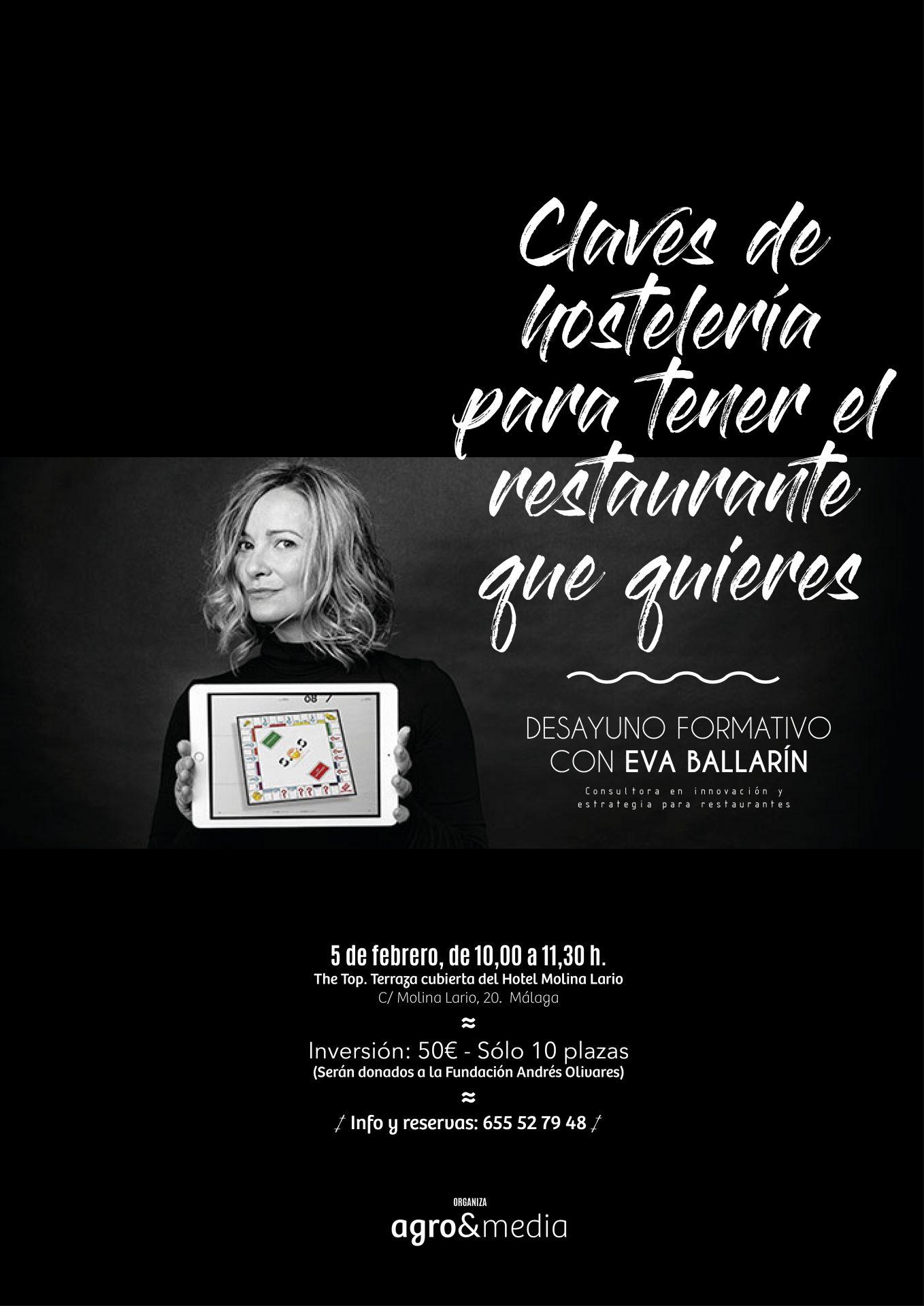 """Desayuno Formativo """"Claves de hostelería para tener el restaurante que quieres"""" (Málaga)"""