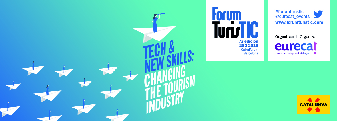 Forum TurisTIC 2019 @ CaixaForum Barcelona   Barcelona   Catalunya   España