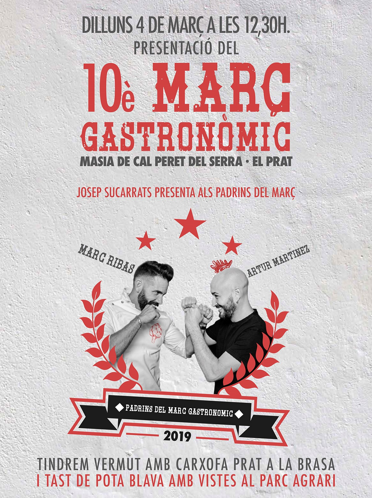 Presentación del 10è Març Gastronòmic (Barcelona)