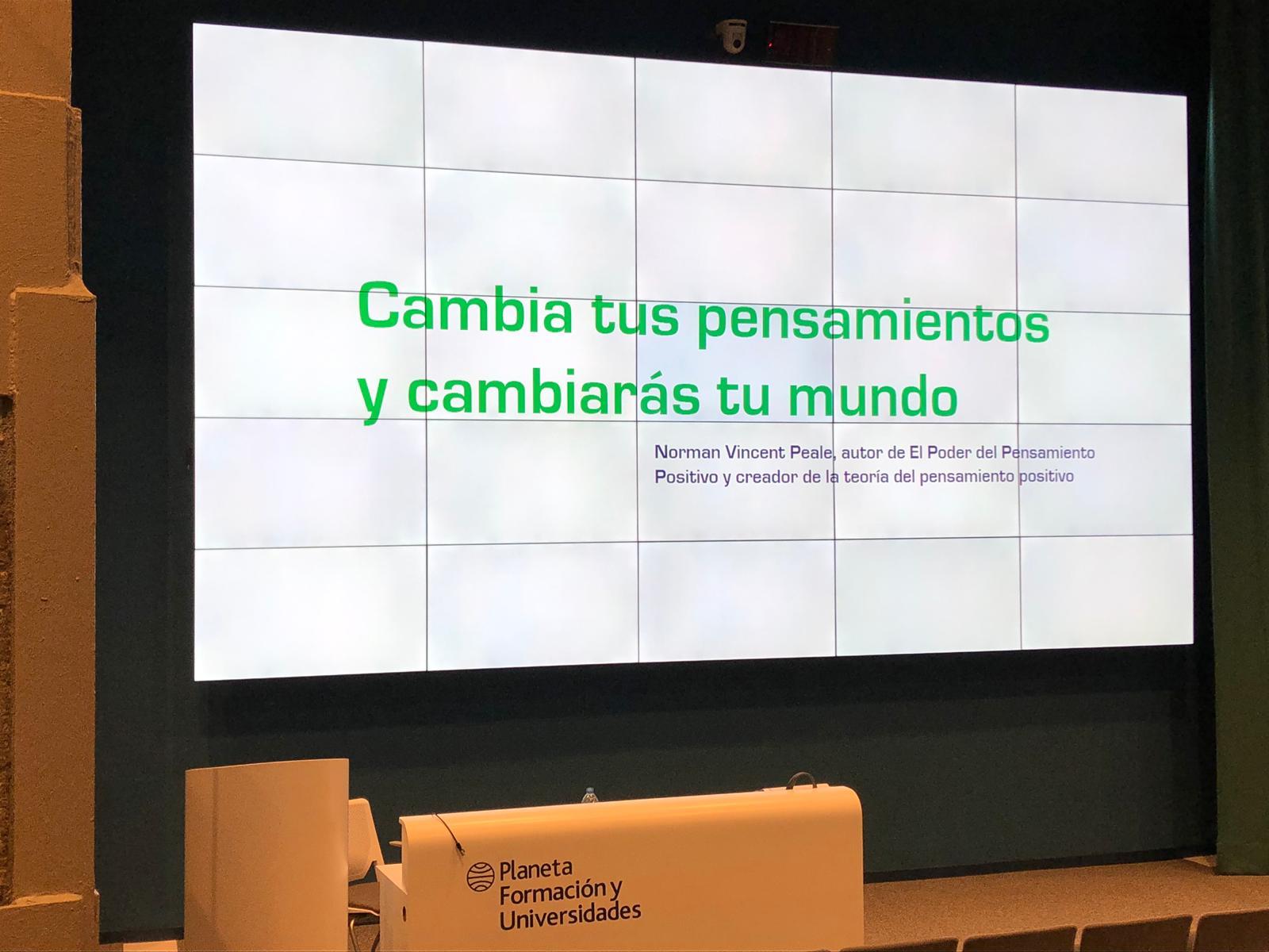Sesión Coaching Motivacional para Ostelea (Barcelona)