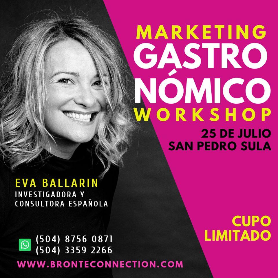 Workshop Marketing Gastronómico (San Pedro Sula, Honduras)
