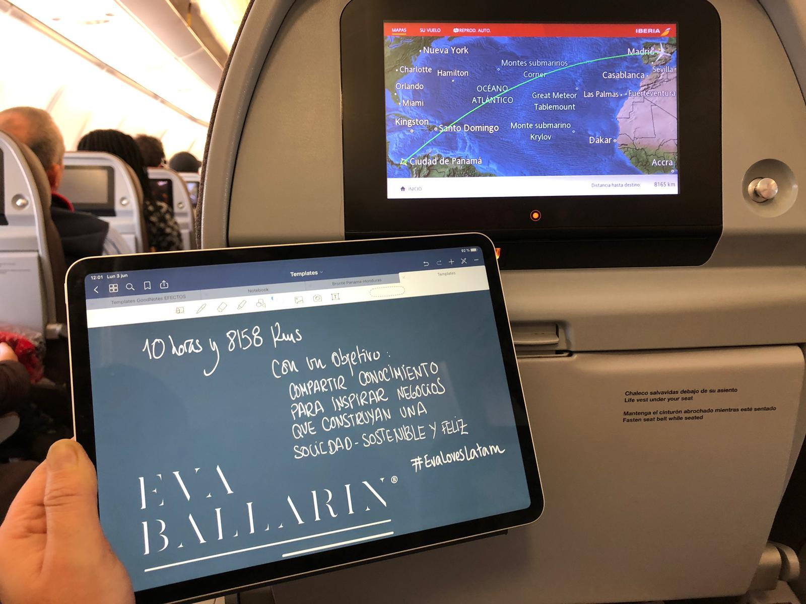 Agenda Ballarin: #EvaLovesLatam