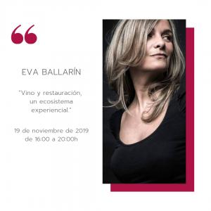 "MasterClass""Vino y restauración, un ecosistema experiencial"" para ESHOB @ ESHOB   Barcelona   Catalunya   España"